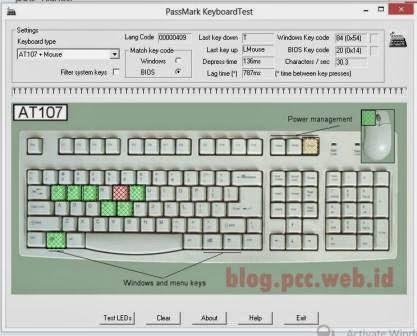 aplikasi cek keyboard laptop rusak